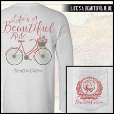 A Beautiful Ride LS Pocket Tee
