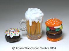 Karen Woodward #lampwork #beads