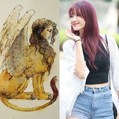 Egyptian Zodiac // Sphinx // Hyuna of 9muses