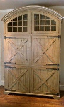 full inset rustic barnwood doors, soapstone countertop ++ Gallery ...