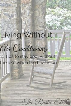 Having trouble staying cool this summer? Here are 11 ways to keep cool without the air conditioner racking up a bill! Off Grid Homestead, Living Off The Land, Energy Efficient Homes, Summer Activities For Kids, Stay Cool, Dream Decor, Island Life, Survival Tips, Simple Living