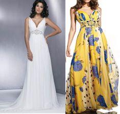 Vestido clássico com decote em V, muito versátil, pois pode ser feito em floral ou liso, com ou sem renda. A parte superior pode ser feita c...