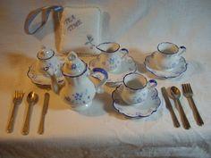 Delton Porcelain Child's Tea Set