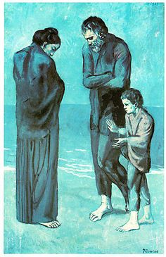 "Poor People On The Seashore 101 By Picasso. If Picasso was alive he would call it "" Syrian refugees at the seashore"" Kunst Picasso, Art Picasso, Picasso Paintings, Henri Matisse, Henri Rousseau, Georges Braque, Kunst Online, Online Art, Famous Artists"