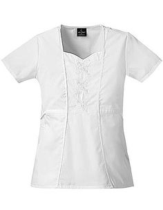629038931ad Baby Phat Womens Sweetheart Neck Nursing Scrub Top Item #: CH-26813 view  details