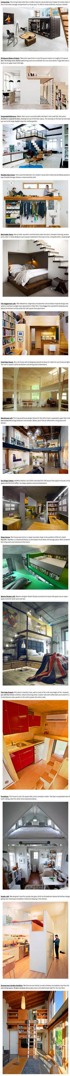 20 Creative Ways for Geeks to Maximize Living Space in Small Homes - TechEBlog