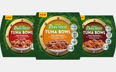 John West launches two tuna meatball ready meal ranges - FoodBev Media Natural Sources Of Protein, Protein Sources, Food Packaging Design, Penne Pasta, Meatball, Fajitas, Ranges, Tuna