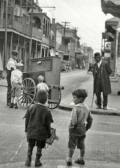 Old New Orleans.  Late 1800's