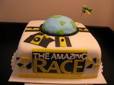 amazing race cake idea