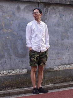 LB_MATSU(PATRICK LABO KICHIJOJI)|無印良品のシャツ・ブラウスを使ったコーディネート - WEAR
