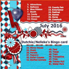 [Here is my July 2016 - Dutchie-Nelleke's Bingo card I used the loving HSA_RedWhiteBlue papers to make my Dutch flag - white I recolored my self because Eileen had no white paper.I also used the loving HSA_RedWhiteBlue_border and the loving HSA_RedWhiteBlue_stripclusters (1). thanks Eileen. shadowed a bit font - Tahoma Shop links - HSA_RedWhiteBlue  http://wilma4ever.com/index.php?main_pag...s_id=38932 http://winkel.digiscrap.nl/Red-White-Blue-bundle/ http://digitalscrapdesigns.com/digita