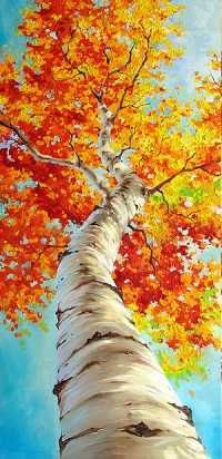 Best canvas painting ideas for beginners - - artist . - Best Canvas Painting Ideas For Beginners – – Artist Best Canvas Paintin - Best Canvas, Canvas Art, Canvas Ideas, Painting Canvas, Acrylic Painting Trees, Fall Tree Painting, Kids Canvas, Large Painting, Acylic Painting Ideas