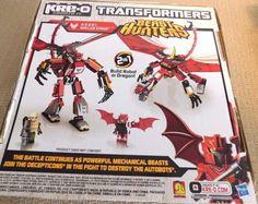 KRe-O Transformers A 220 Ripclaw Strike BEAST HUNTERS  2 In 1 Robot or Dragon NI
