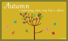 Who's Ready for Autumn? {printable} - Mine for the Making