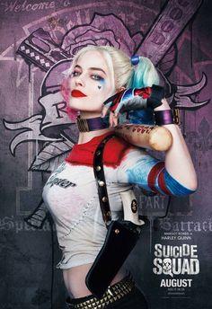 Margot Robbie in Escuadrón Suicida (2016)