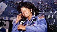 Sally Ride in orbita