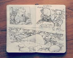 2014 Sketchbook Art by Jared Muralt