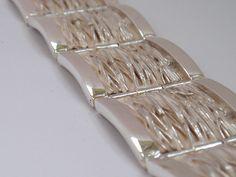 Armbanden voor mannen en vrouwen met een uniek design en 100% tevredenheidsgarantie! Sjoerd Maret - Edelsmid en sieradenontwerper in Amsterdam sinds 1995.,Zilveren schakelarmband