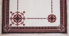 Ukrainian Folk Embroidery Handmade CrossStitched by AnaKrafts, $399.00
