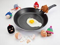 "Eierwärmer ""Funky Eggs"" - Geschenke bis 20 Euro - [LIVING AT HOME]"