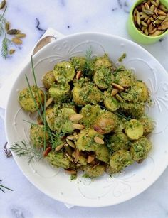 Chive Pesto Potato S