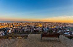 Barcelona Bunker Sunset