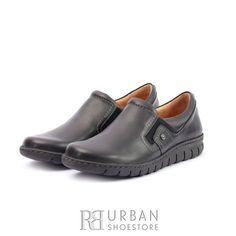 Pantofi casual din piele naturala - 093 Negru Box Loafers, Box, Casual, Sports, Fashion, Hs Sports, Moda, Snare Drum, Fashion Styles