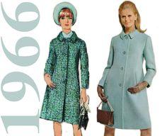 1960er Jahre Mantel Muster Einfachheit 6684 von ThePerfectPattern