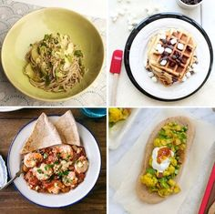 Gluten-Free S'mores Waffles & Cold Soba with Spicy Eggplant Sauce — Delicious Links