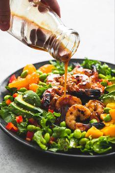 Mango Mandarin Sesame Shrimp Salad Creme De La Crumb, Asian Sesame Chicken Salad Recipe Taste of Home, Sesame Salad with Blackened . Sesame Chicken Salad Recipe, Chicken Salad Recipes, Veggie Recipes, Seafood Recipes, Cooking Recipes, Healthy Recipes, Dinner Recipes, Vegetarian Recipes, Shrimp Mango Salad