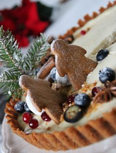 ENKEL PEPPARKAKSCHEESECAKE - Fika, Food Cakes, Cheesecakes, Waffles, Cake Recipes, Food And Drink, Candy, Cooking, Breakfast