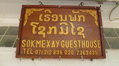 Guest House Sokmexay. #LuangPrabang #Laos