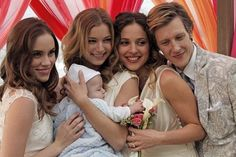 Gabriel Mann, Emily VanCamp, Christa B. Allen and Margarita Levieva in Revenge :)