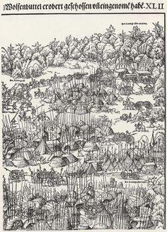 Die Belagerung von Wolfenbüttel, Block 4 Künstler:Cranach d. J., Lucas Entstehungsjahr:1542