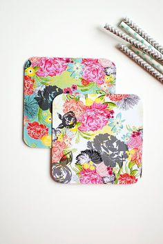 MODERN ECLECTIC party coaster set 10 pack