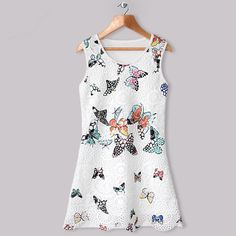 Butterfly Shift Dress - Comes in 3 Colours 4-9 Years Available from: www.bambinos2tots.co.uk