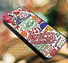 Austin Mahone Collage   iPhone 4/4s/5/5s/5c Case  by diemondHard, $15.00