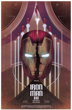 Cool Art: 'Iron Man 3' by Nicolas Alejandro Barbera