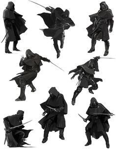 Charcater concepts, assassin