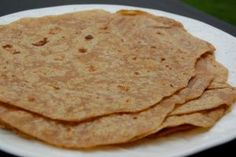 Whole-Wheat Tortillas (I use melted coconut oil instead of regular oil -- Always a huge hit!!)