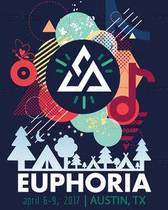 Euphoria+Festival+Poster+by+Yiotu+on+CreativeAllies.com