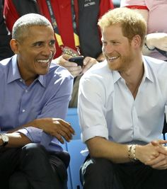 """Suits or The Good Wife?"" Prince Harry Gets Cheeky as He Interviews Barack Obama"