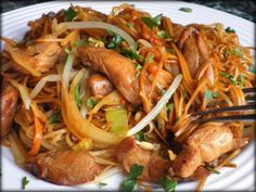 Asian Recipes, Ethnic Recipes, Japchae, Food And Drink, Chicken, Treats, Cooking, Fitness, Heartburn