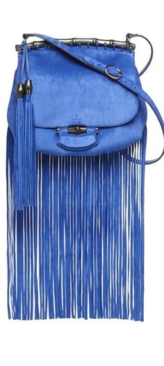 Gucci Fringe Bag from Spring 2014 Milan Runway Collection