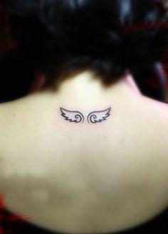 tatuagem com asas de anjos - Pesquisa Google