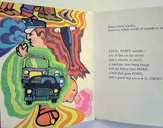 """Psychedelic and educational... """"The Sounds Book"""" dates to the mid-1970s"""