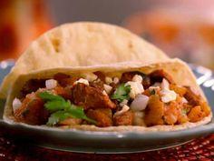 Horizontal Tacos al Pastor Recipe : Jeff Mauro : Recipes : Food Network