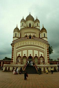 Dakshineshwar Kali temple (main shrine) in Kolkata (Calcutta), West Bengal
