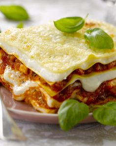 Lasagne Mozarella, Italian Pasta Recipes, Cooking Time, Lasagna, Food To Make, Food And Drink, Yummy Food, Stuffed Peppers, Healthy Recipes