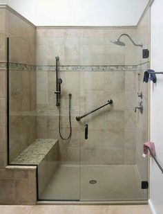 Relaxing Master Bathroom Shower Remodel Ideas Relaxing Master Bathroom Shower Remodel Ideas Relaxing Master Bathroom Shower Remodel IdeasOften we have found that people love nothin Handicap Bathroom, Master Bathroom Shower, Bathroom Showers, Bathroom Mirrors, Bathroom Interior Design, Home Interior, Bathroom Designs, Bathroom Ideas, Roll In Showers